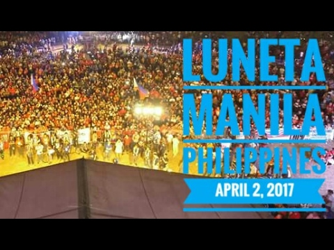 Invitation For Those Of Us Who Did Not Care For Luneta Rally